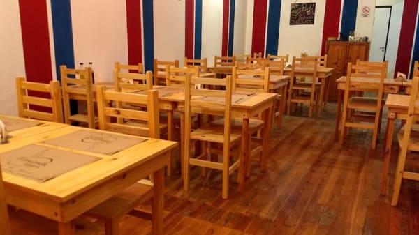 Sala del restaurante - Pimienta Negra, CABA