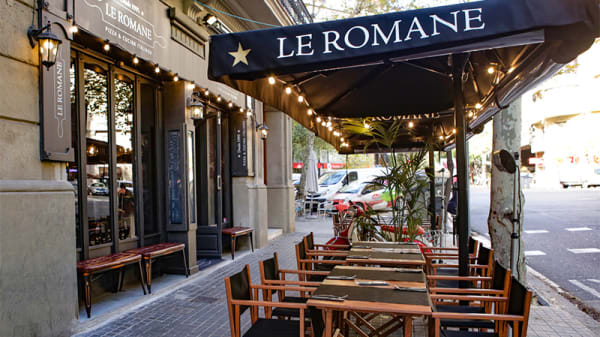 Terraza - Le Romane, Barcelona