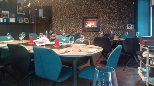 Salle du restaurant - Aqua-Grill, Ostende