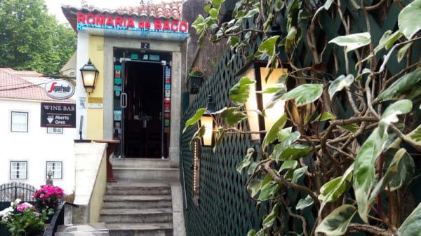 Entrada - Romaria de Baco, Sintra