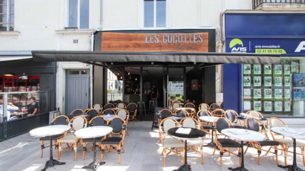 Façade - Les Cocottes, Angers