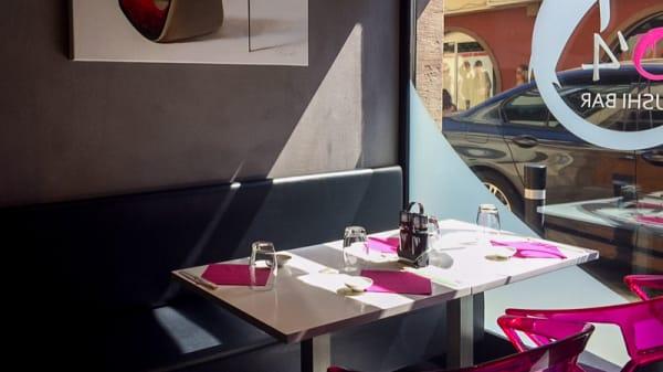 salle - O'4 Sushi Bar, Obernai