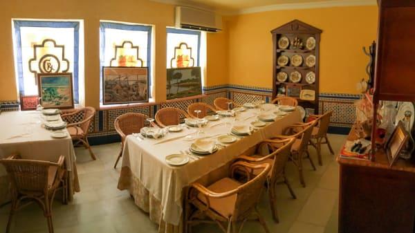 comedor privado - Casa Rufino, Isla Cristina