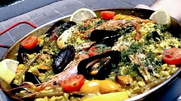 paella di pesce e crostacei - La Cambusa, Gabicce Mare