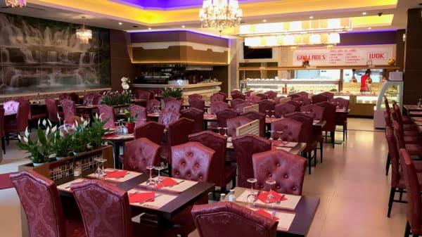 Salle du restaurant - City Wok, Villeneuve-d'Ascq