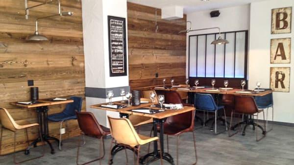 Salle du restaurant - Bagdad Café, Sion