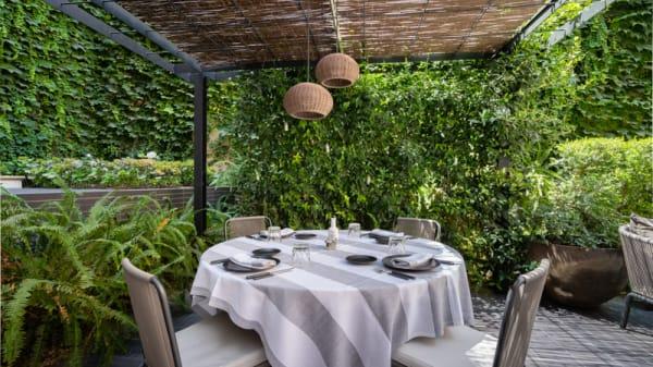 Terraza - Quadrat Restaurant & Garden - Sant Francesc Hotel Singular, Palma de Mallorca