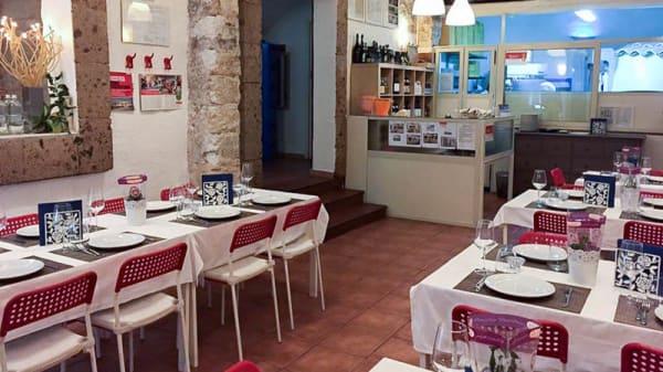 Vista sala - Rosso Pizza, Palermo