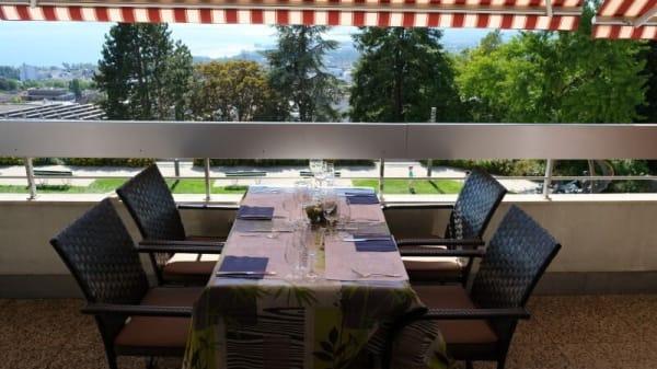 Terrasse - Restaurant le Boisy, Lausanne