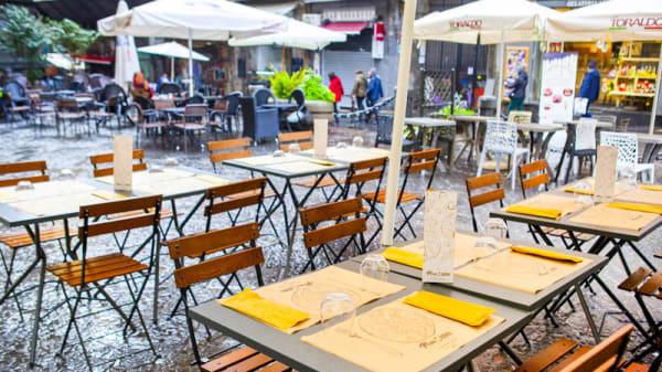 Terrazza - Pomod'oro Pizzeria, Naples