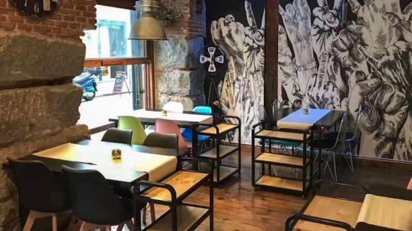 Sala del restaurante - Nunca Cocinas Sin Hambre, Madrid