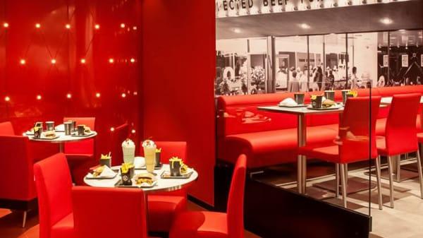Sala del restaurante - Steak 'n Shake, Madrid