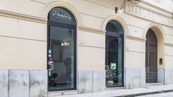 Entrata - Pablo's Ristorante, Palermo
