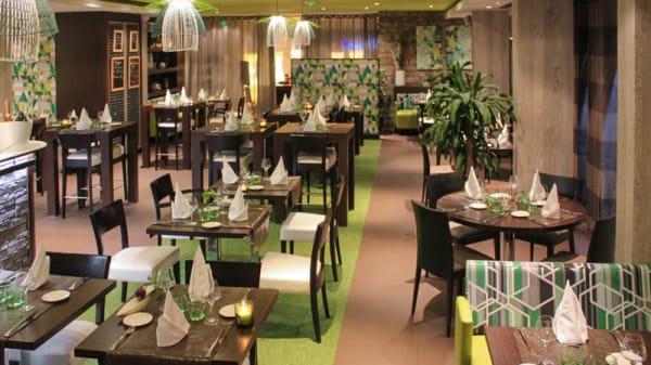 Salle du restaurant - La Présidence, Dieppe