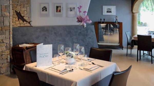 Sala del restaurante - Mañet, Teulada