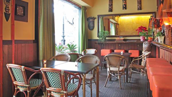 Sala principal - Kahala Restaurante Hawaiano, Barcelona