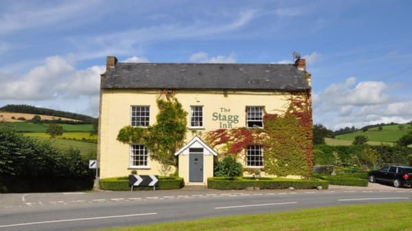 Restaurant - The Stagg Inn & Restaurant, Kington