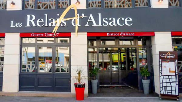 Entrée - Les relais d'Alsace, Saint-Nazaire