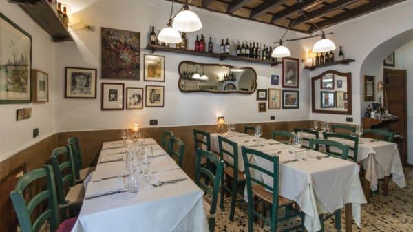 Vista sala - Taverna ripetta, Rome