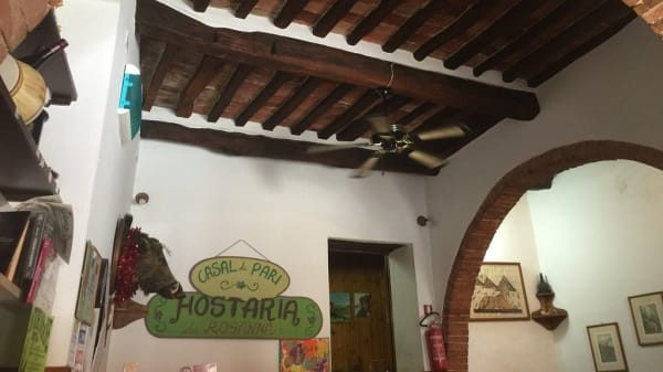 Trattoria da Rosanna, Casale di Pari