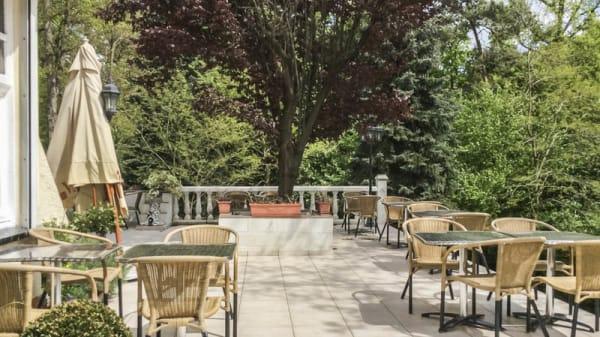 terrasse - Le Cerf Blanc, Mons