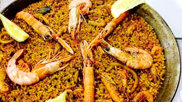 Paella de Marisco - Casa Ibarra, Alicante