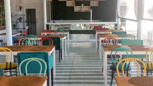 Sala del restaurante - Complejo Alcántara, Badajoz