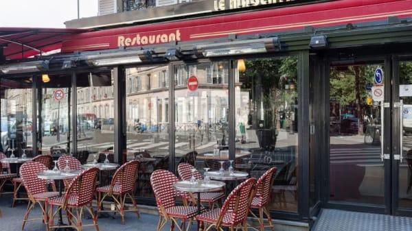 Vue de la salle - Le Magenta, Paris