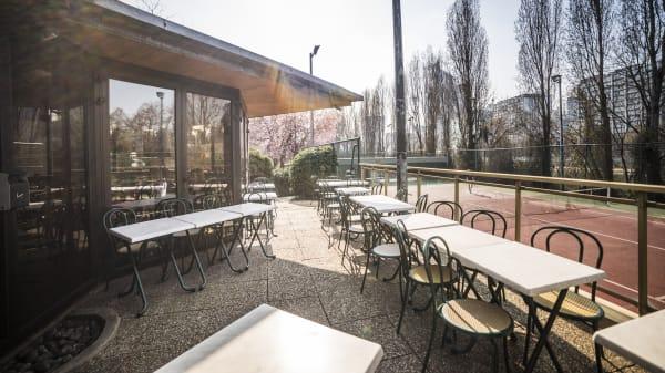 Grande terrasse - La Passerelle, Neuilly-sur-Seine