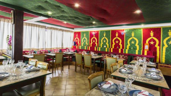 Vue de la salle - La Table Marocaine du XVème, Paris