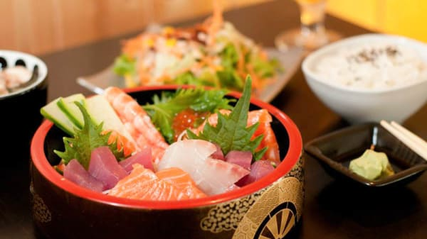Vue plat - Sushi Kai, Beaune