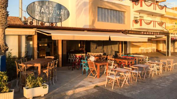 Vista terraza - La Machina, Málaga