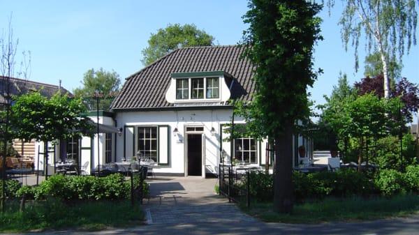 Zilt & Zoet terras zijde - Restaurant Zilt & Zoet, Maartensdijk