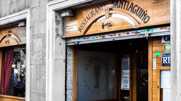 entrada - Restaurante Santiaguiño, Barcelona