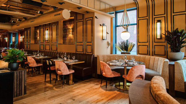 Het restaurant - D Cuisine, The Hague
