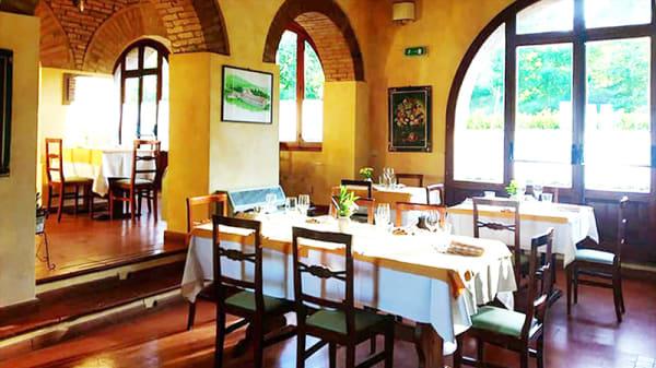 Vista della sala - Il Casolare, Sarteano