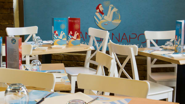 Sala del ristorante - Mangianapoli Taverna Partenopea, Napoli