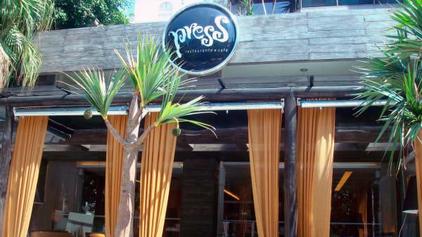 Fachada - Press Café, Porto Alegre