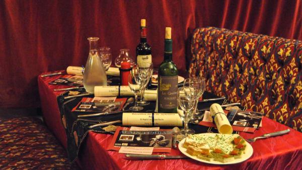 Tables dressées - Les Artistes de Saint Germain, Saint-Germain-sur-Ay