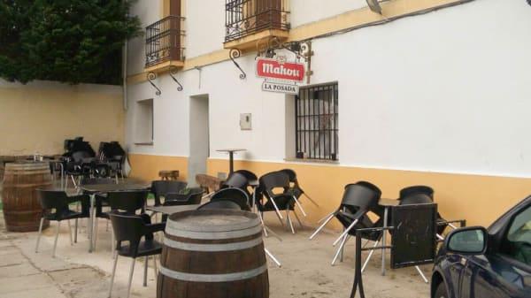 Terraza - Mesón La Posada & Giraldo, Aldea Del Cano