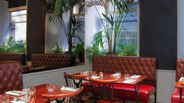 vue de la salle - Brasserie Le Tourny, Bordeaux