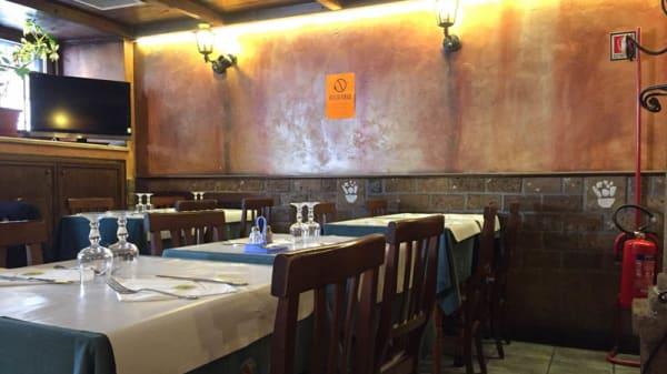 Sala del ristorante - L'insalata Ricca Piazza Risorgimento, Rome