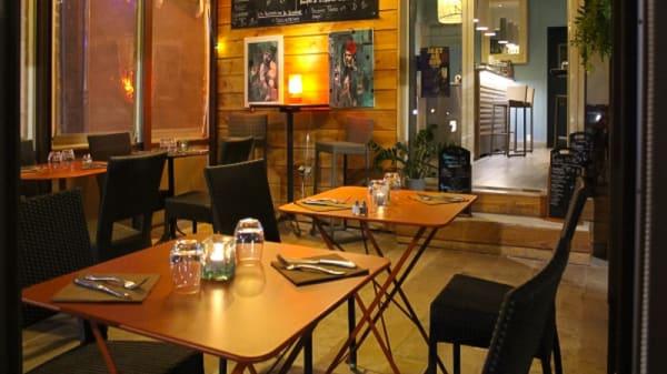 Salle - L'Oyster Bar, La Ciotat