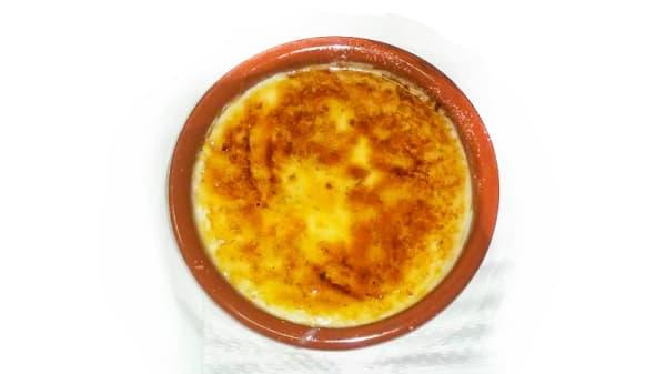 Sugerencia plato - El Sedàs, La Bisbal d'Empordà