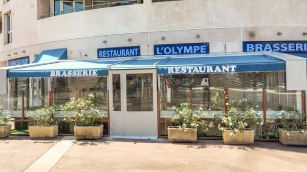 terrasse exterieure fumeur acceptés - Olympe, Marseille