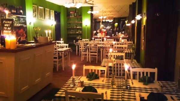 Restaurangens rum - Nyboders Køkken, København