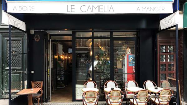 Vue de la terrasse - Le Camélia Saint Antoine, Paris