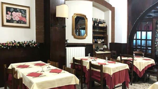 Vista della sala - La scogliera, Milano