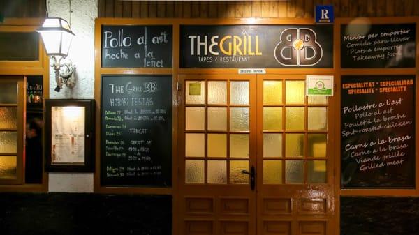 Entrada - The Grill BB, Platja d'Aro