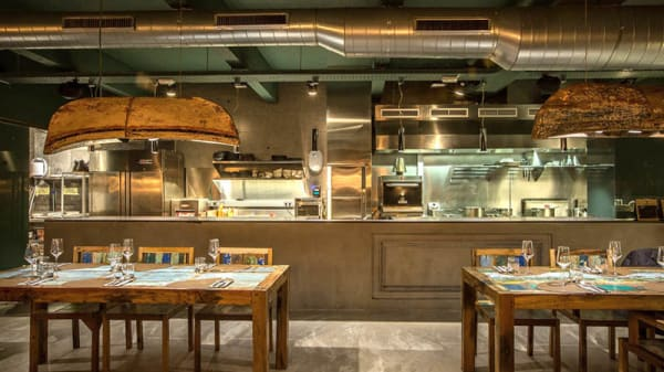 Vista sala - Xarma Cook & Culture, Donostia/San Sebastián